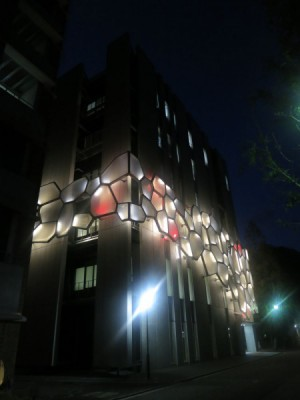 LEDが何万色にも変化していきます